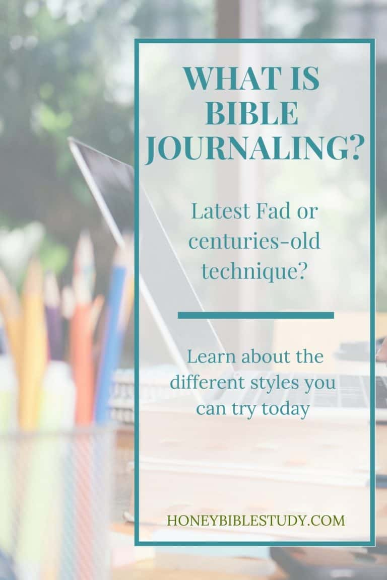 What is Bible Journaling?