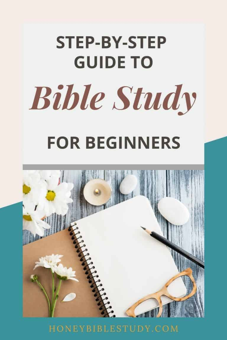 Easy Bible Study for Beginners