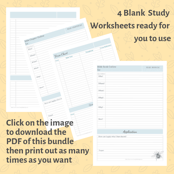 picture-of-4-worksheets-with-a-bee-decoration-created-by-honeybiblestudy-com