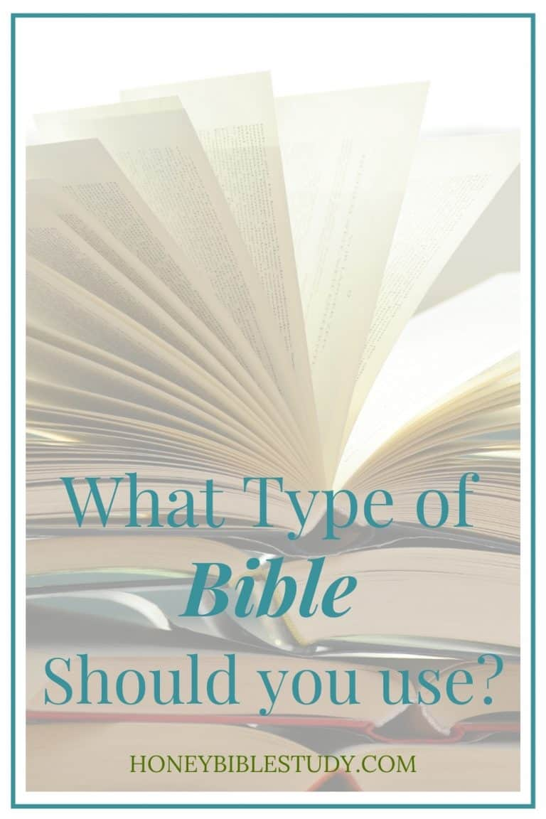What Type of Bible Should I use?