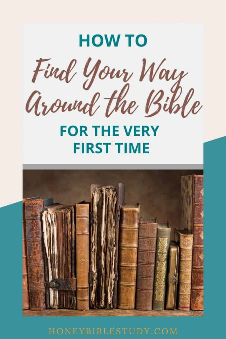 How to Navigate a Bible – for the very first time